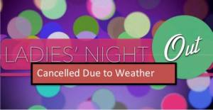 ladies' night out canceled